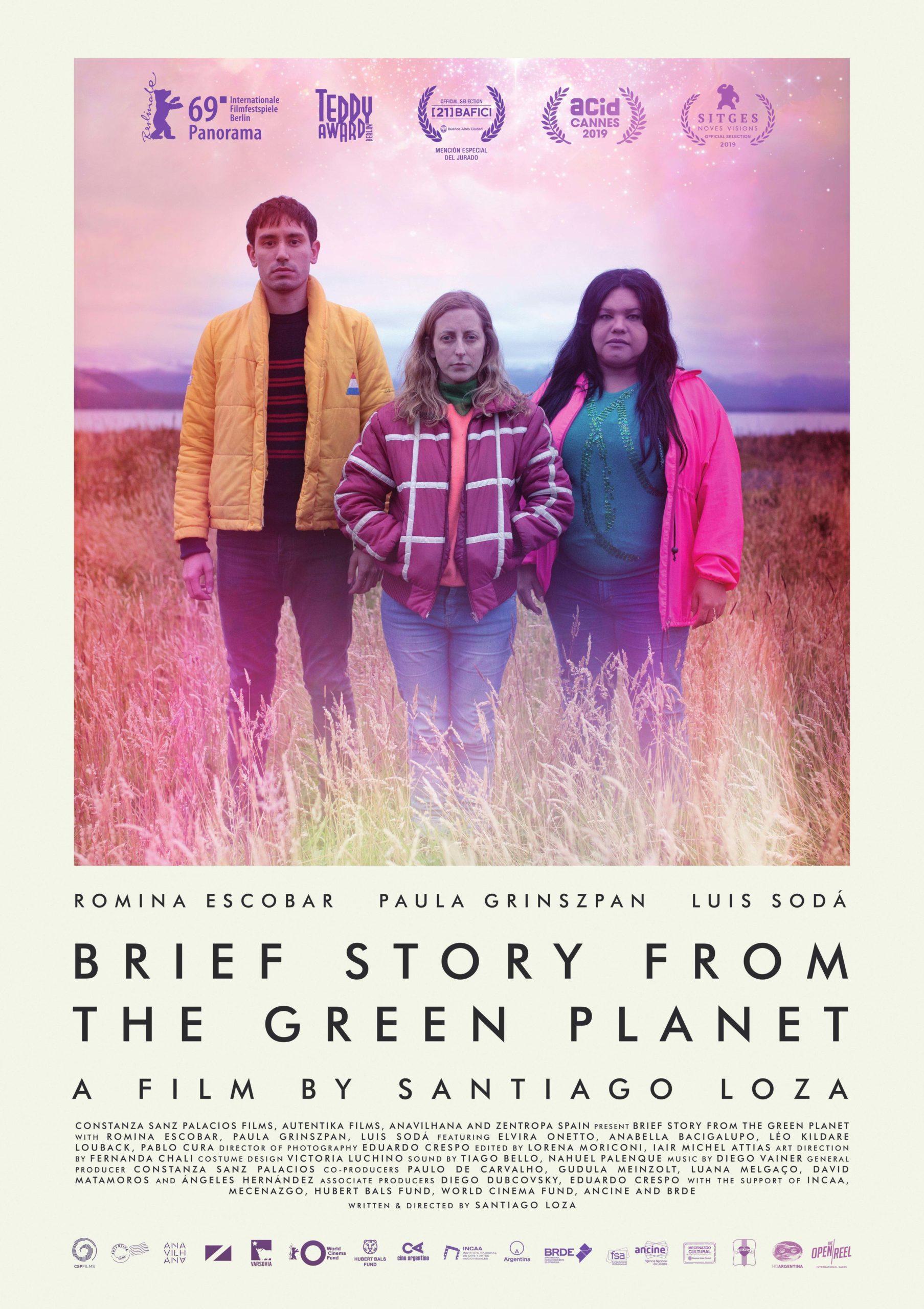 Poster Breve historia del planeta verde